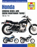 HONDA CMX250 REBEL - CB250 NIGHTHAWK TWINS (1985-2014)